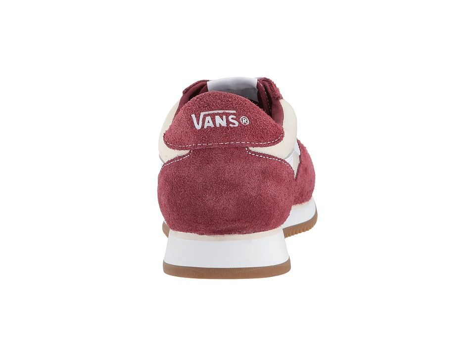 Vans UA Runner Shoes Madder Brown/True White Varsity Sport '84