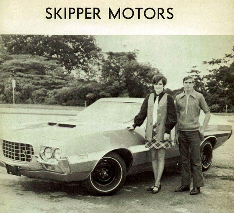 1970's Skipper Motors Ford Dealership, Daingerfield, Texas