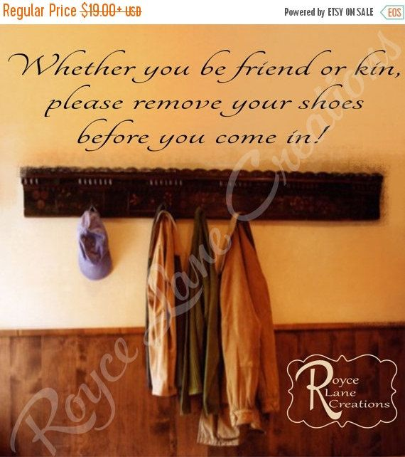 Remove Shoes Decal Remove Shoes Wall By RoyceLaneCreations ALL - Custom vinyl wall decals how to remove
