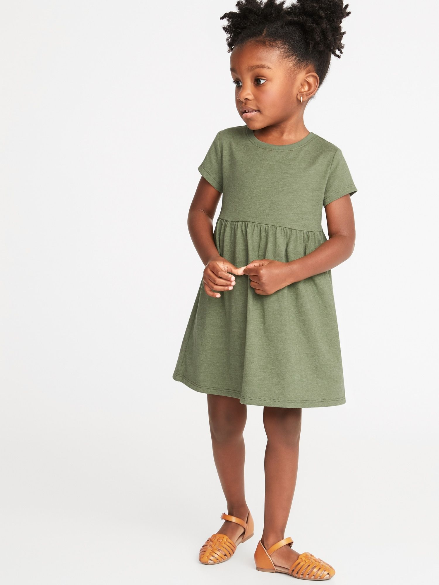 4b7b07fa94255 Jersey Fit & Flare Dress for Toddler Girls | Bluebonnet Inspiration ...