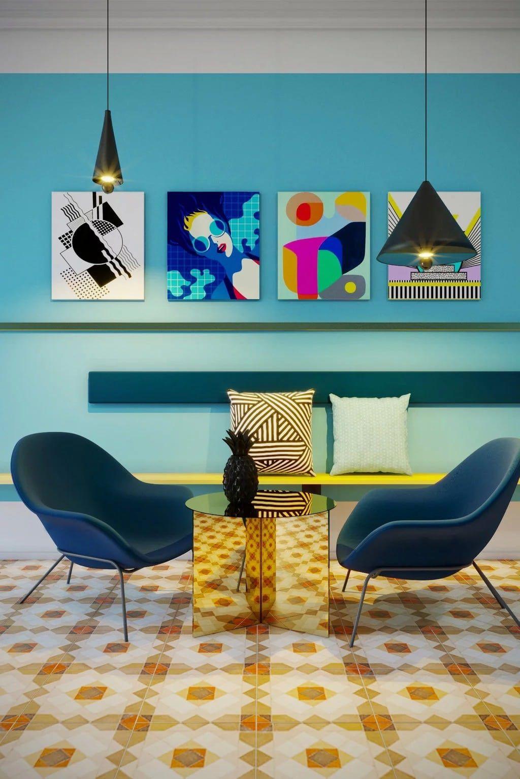 9cfb6eda22a67d Découvrez tous nos conseils pour une déco rétro des années 60 : mobilier  rétro style scandinave