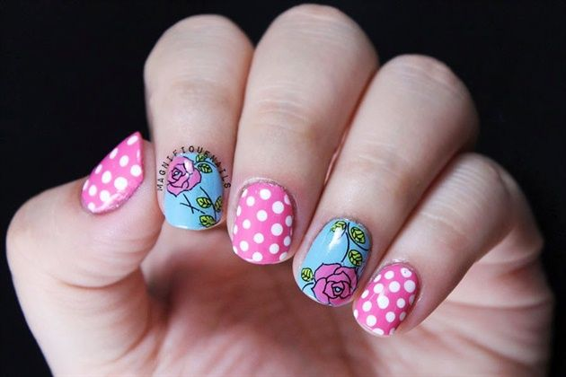 Floral Water Decals by BornPrettyNails from Nail Art Gallery