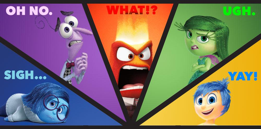 Which Emotions Are You Experiencing During The Big Game Sadness Fear Anger Disgust Joy Insideout F Joy Inside Out Disney Inside Out Inside Out Emotions