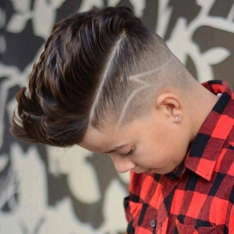 Tagli di capelli maschili per ragazzi