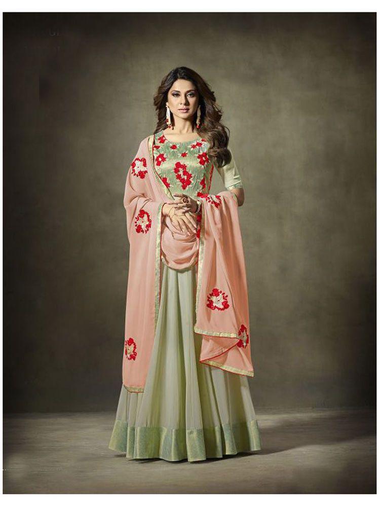 b1acccf8ae1 Ethnic Indian new design women Party wear Indian Pakistani Anarkali Dress   Shoppingover  SalwarKameez