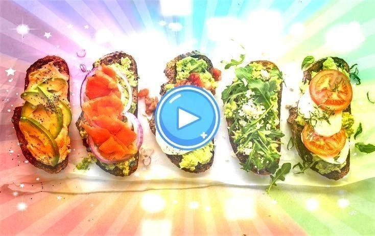 auf Avocado Toast unter 300 Kalorien - 300 calorie meals - 5 Riffs auf Avocado Toast unter 300 Kalo