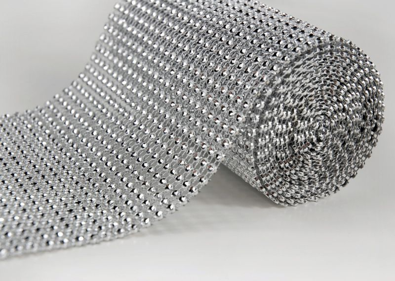 Cheap diamond mesh wrap