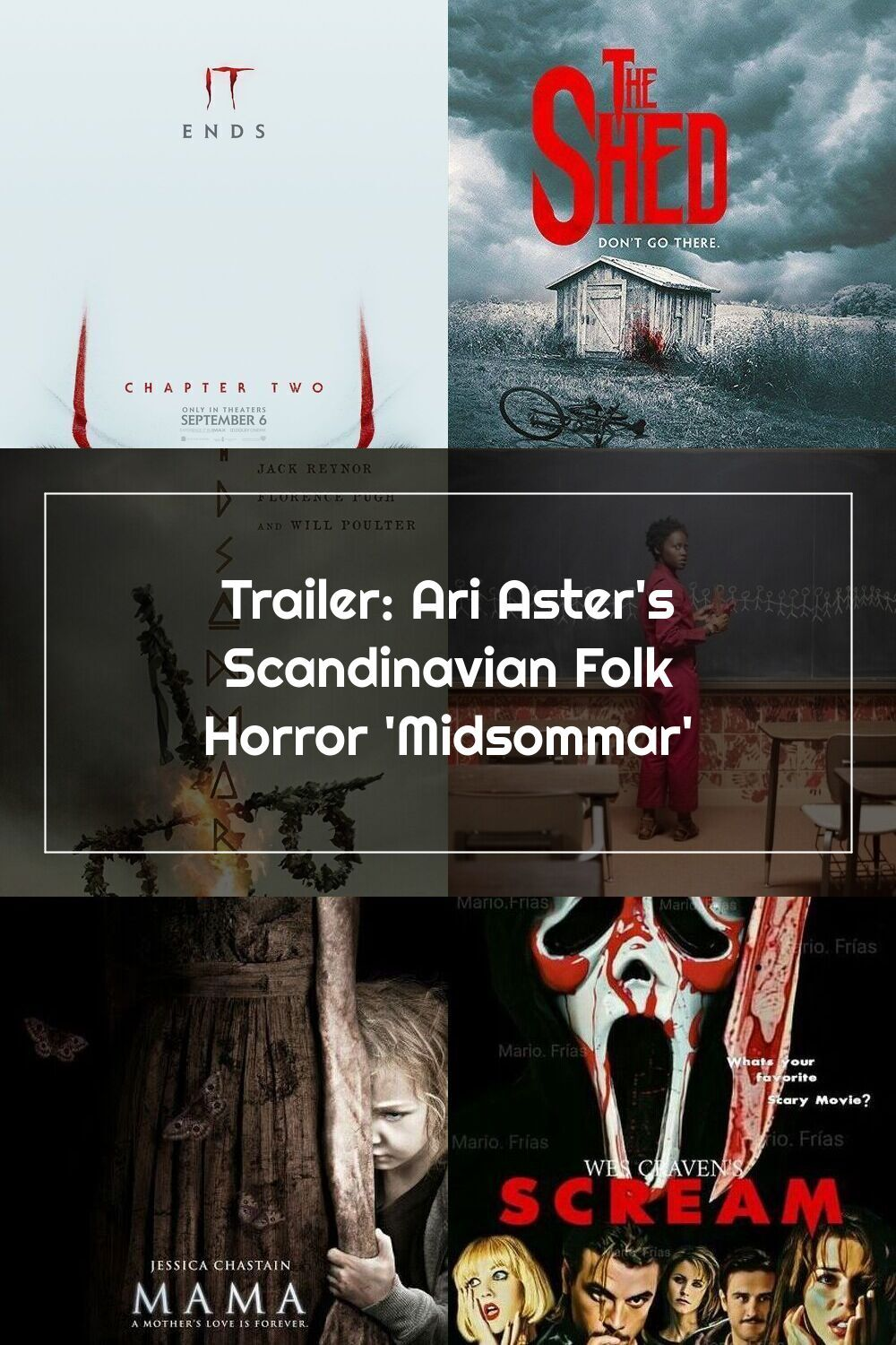 Trailer Ari Aster S Scandinavian Folk Horror Midsommar Horror News And Movie Reviews In 2020