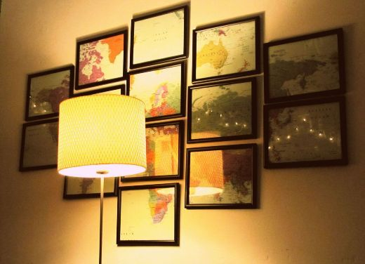 This is a nice way to display your favorite places.