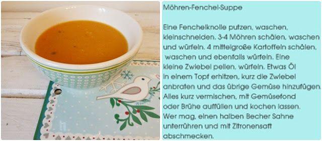 möhren fenchel suppe