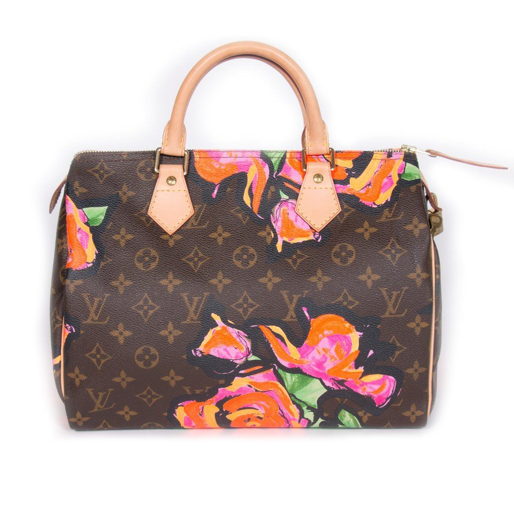 fb4ab86ed202 Shop authentic Louis Vuitton Stephen Sprouse Roses Speedy 30 at Re ...