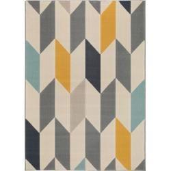 benuta Kurzflor Teppich Dessert Multicolor 140×200 cm – Moderner Bunter Teppich für Wohnzimmer benut