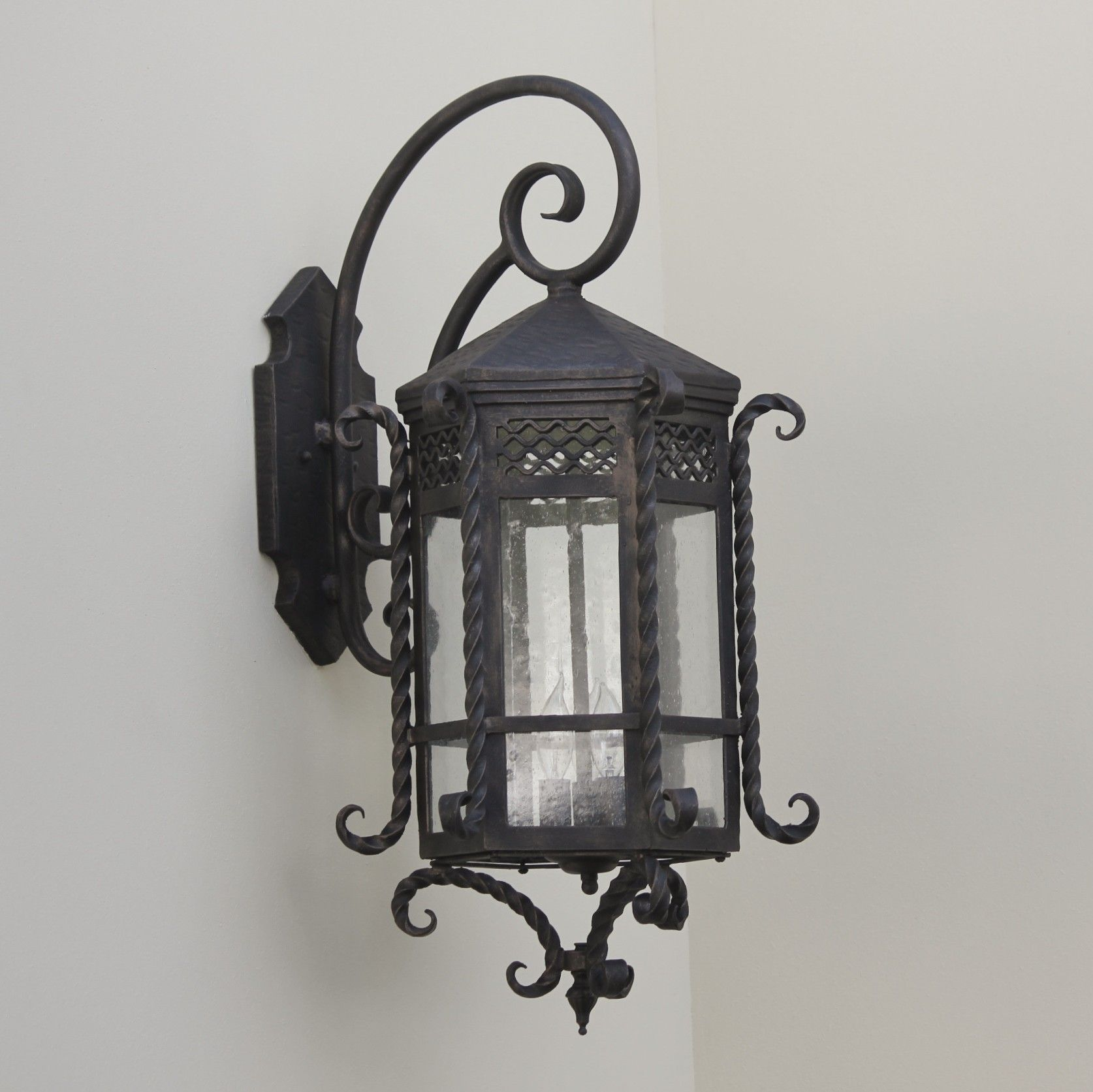 lantern style outdoor lights oversized outdoor wall spanish style outdoor lighting fixture lightsoftuscanycom