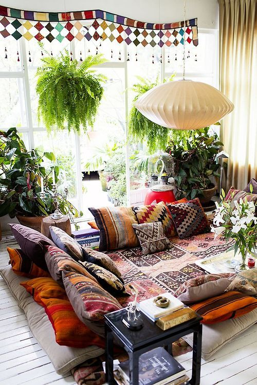 Small Boho Living Room: (via Pin By Mitch Murphy On Inside