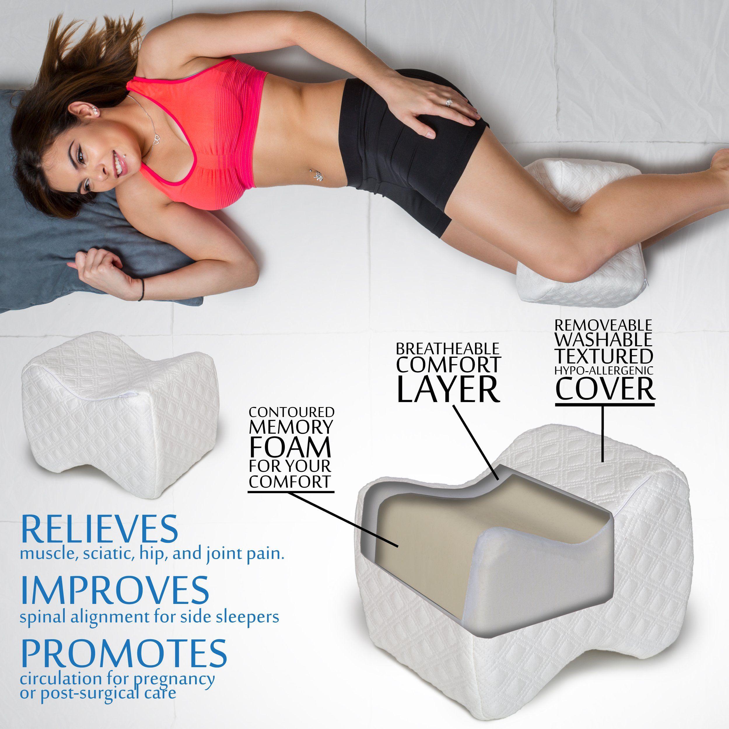 aeris knee pillow for side sleepersmaximum sciaticajointhiprestless