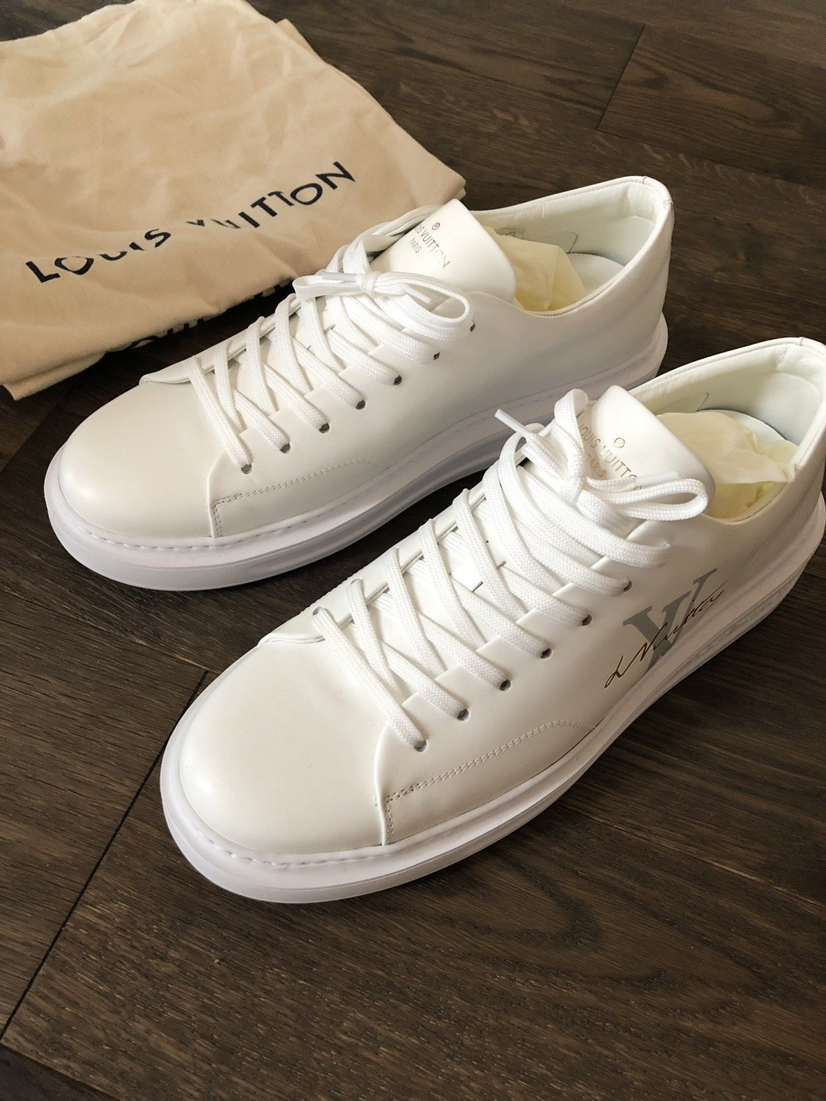 94f02911e2a Louis Vuitton Beverly Hills sneakers Authentic LV Fits Size US10 (UK ...