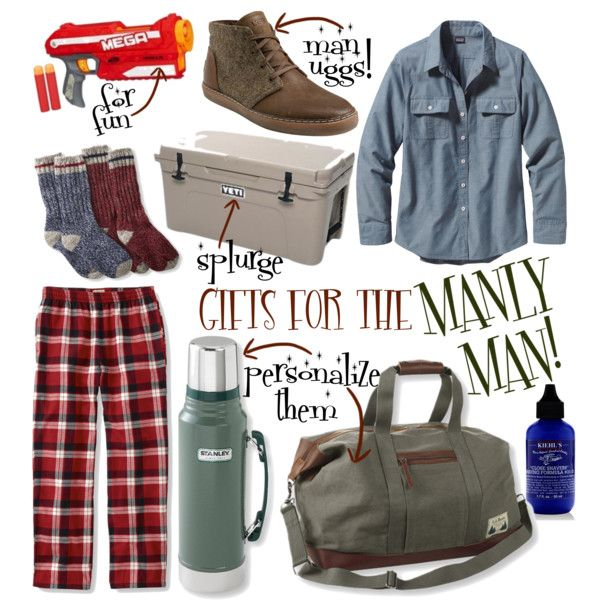 GIFT GUIDE: For The Manly Man