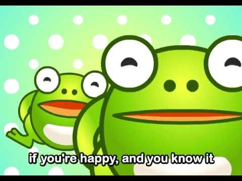 If you're happy and you know..(frog themed) 1:20 min