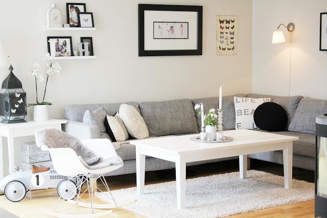Como decorar un sal n acogedor bonito y rom ntico n rdico for Sofa estilo romantico