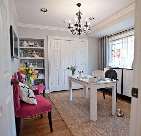 Gentil Decorate For A Glamorous Home Office