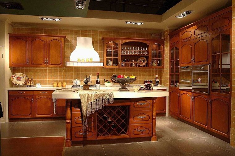 Cucina Arte Povera Piastrelle Ocra Buy Kitchen Cabinets Kitchen