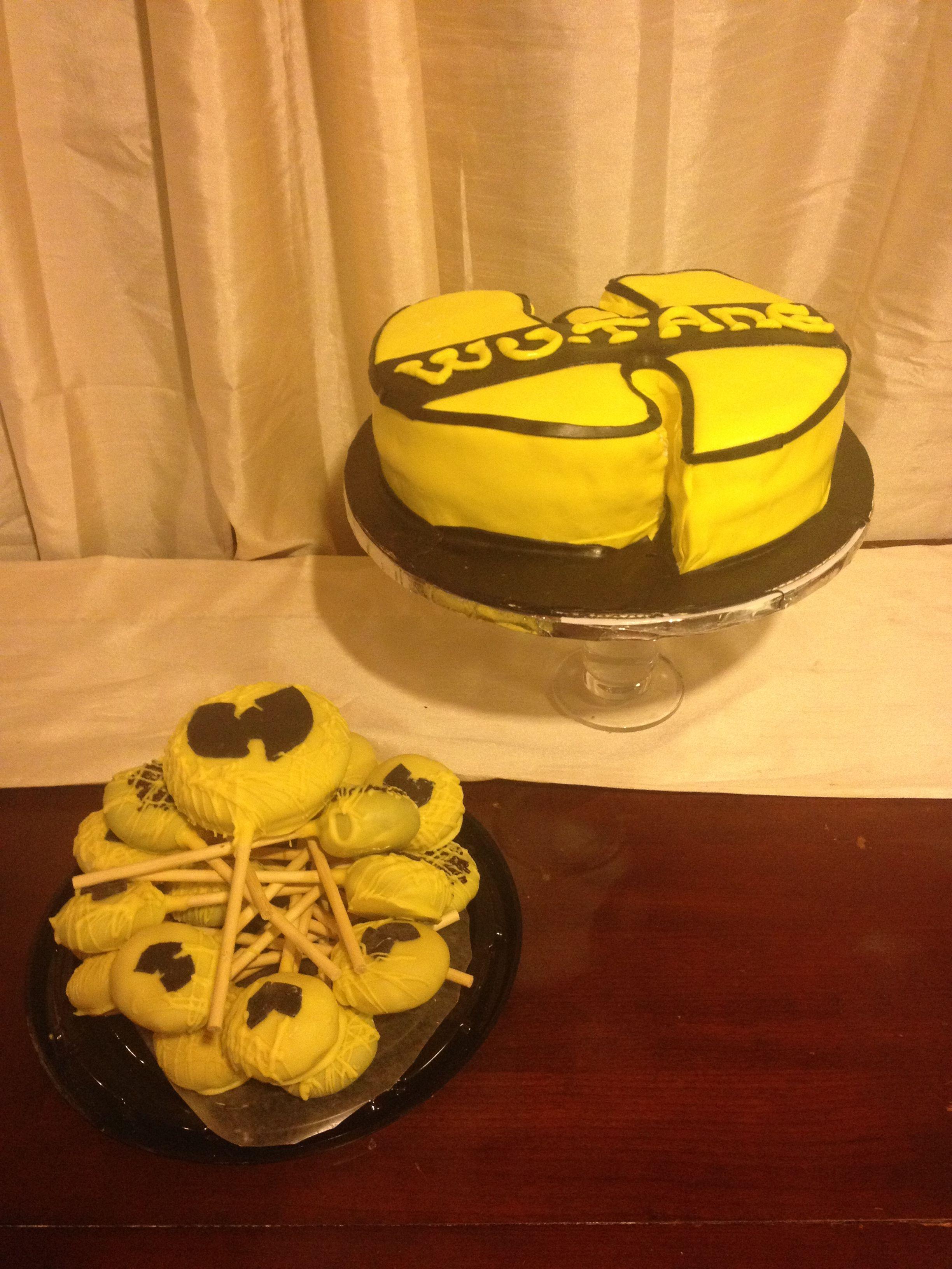 Wu tang clan birthday cake cakepops itscakez pinterest wu wu tang clan birthday cake cakepops pooptronica