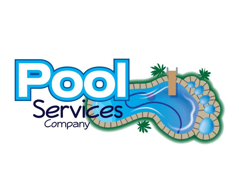 Logo for a pool service company in the usa which i have for Pool design companies