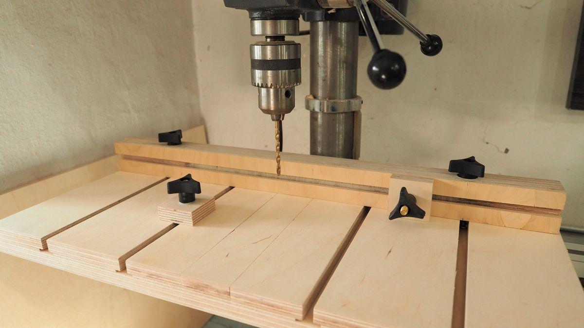 Build A Drill Press Table Diy Montreal כלים Drill
