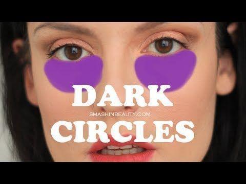 How to conceal dark circles (makeup for beginners) | SmashinBeauty #BeginnerMakeupForTeens #BeginnerMakeupForDarkSkin #BeautyTipsForBlackWomen #DarkCirclesMakeup #darkcircle