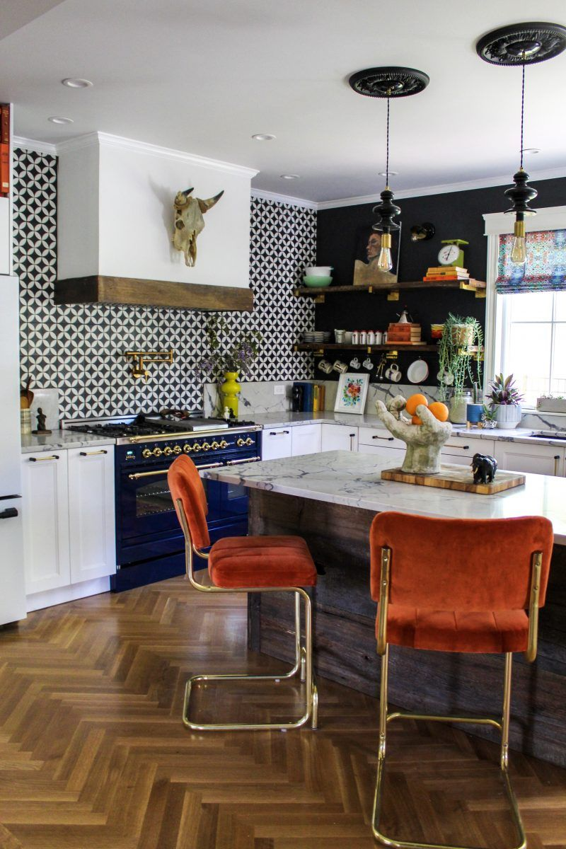 One Room Challenge With Images Eclectic Kitchen Home Decor