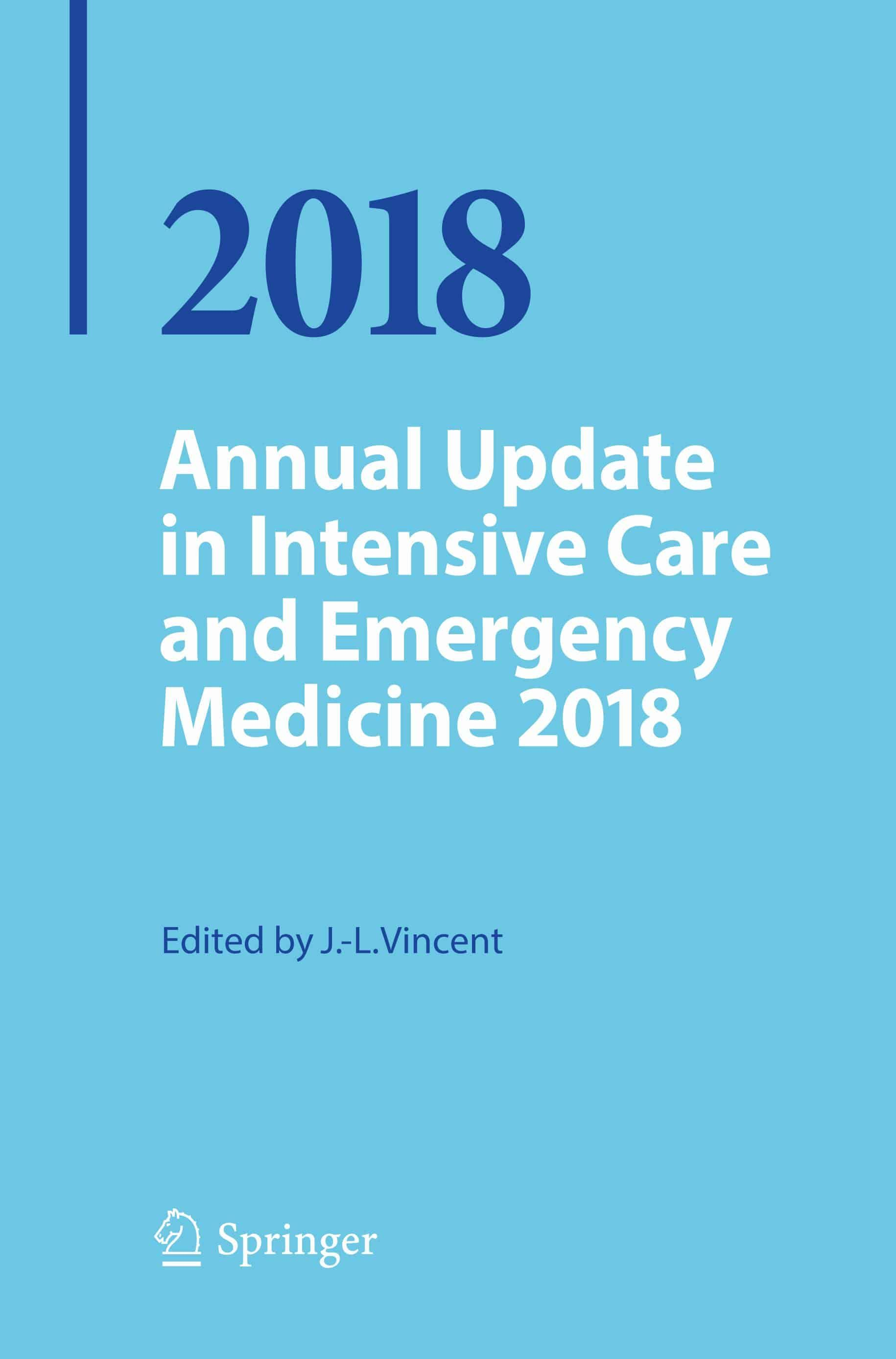 Annual Update in Intensive Care and Emergency Medicine, 2018