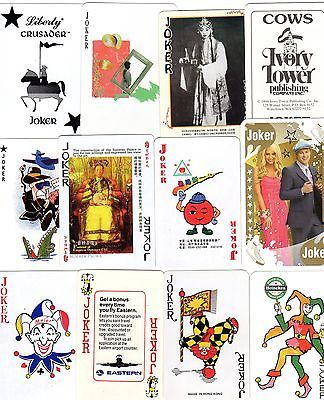 "12 different old & new #""brilliant"" joker #playing #cards #y,  View more on the LINK: 	http://www.zeppy.io/product/gb/2/152217310065/"