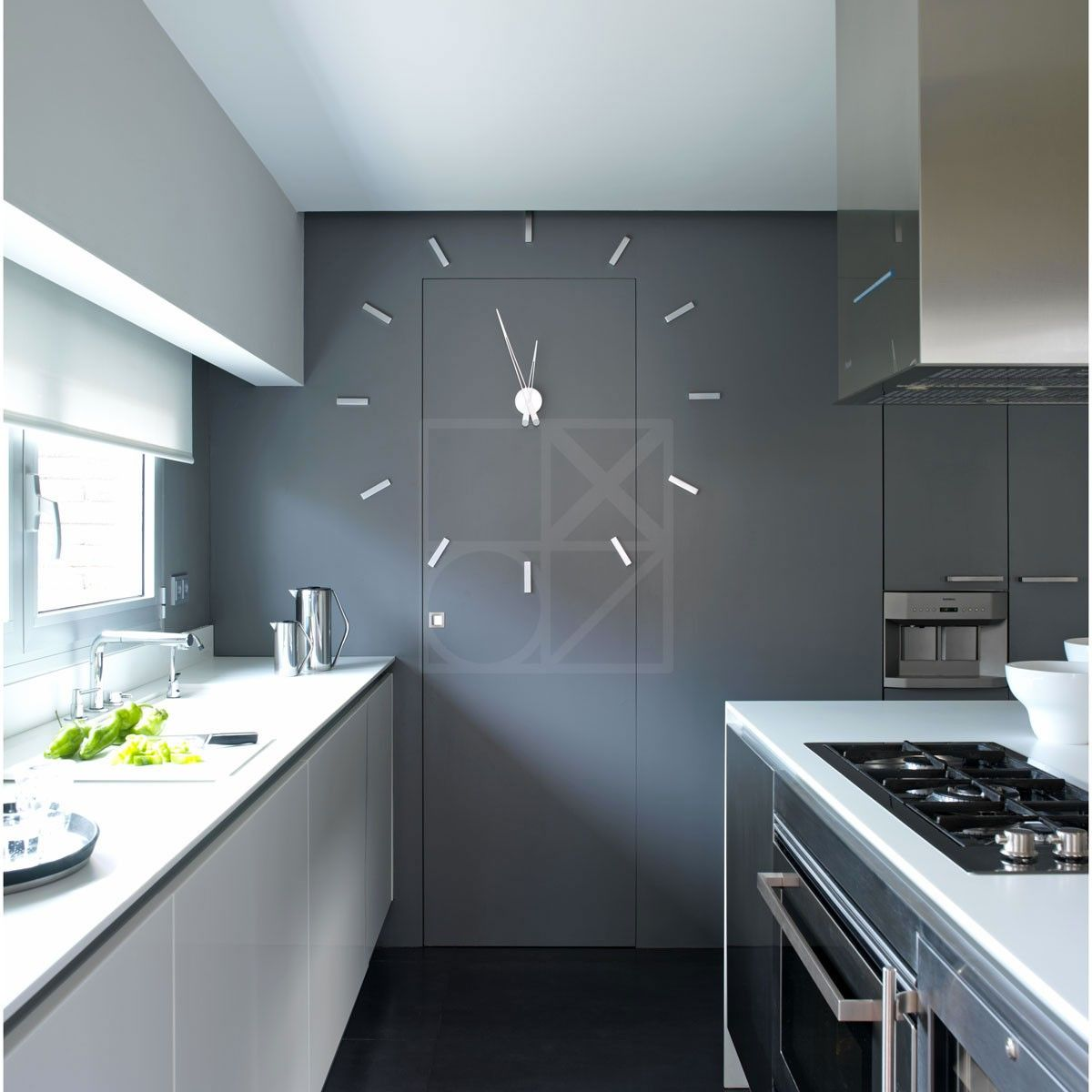 Horloge murale design horloge nomon tacon 12 quelle - Horloges murales cuisine ...