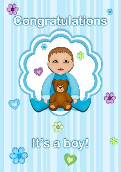 Free printable baby cards - my-free-printable-cards Free