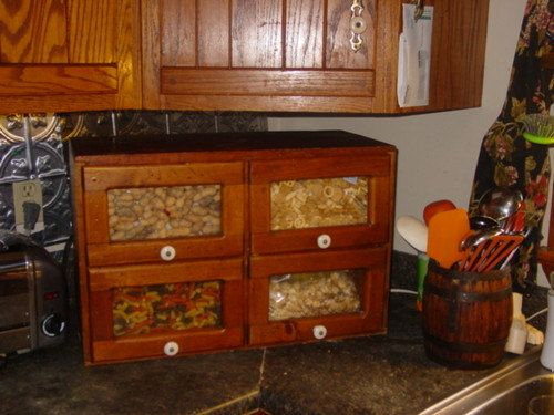 Antique Country Store Miniature Seed Cabinet by EclecticalMagic ...
