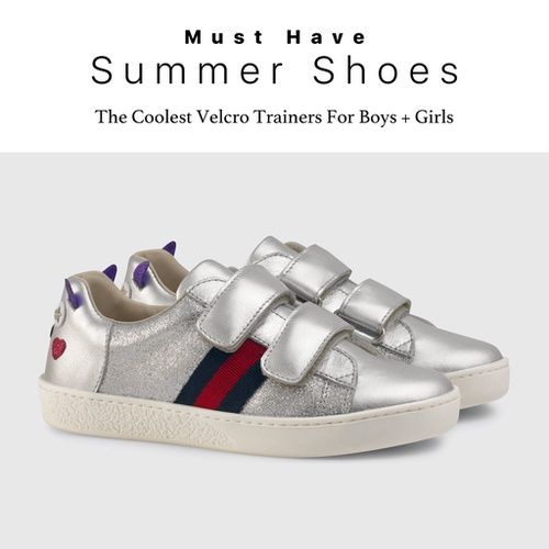 6a9d02b47a8 The Coolest Velcro Sneakers For Kids  wolfandfriends  gucci  adidas   newbalance  goldengoose  ShopStyleCollective