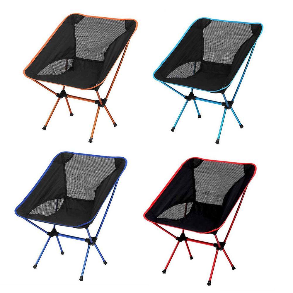 Singda Portable Folding Chair Seat Stool Ultralight Camping Hiking Backrest  Chai #Singda