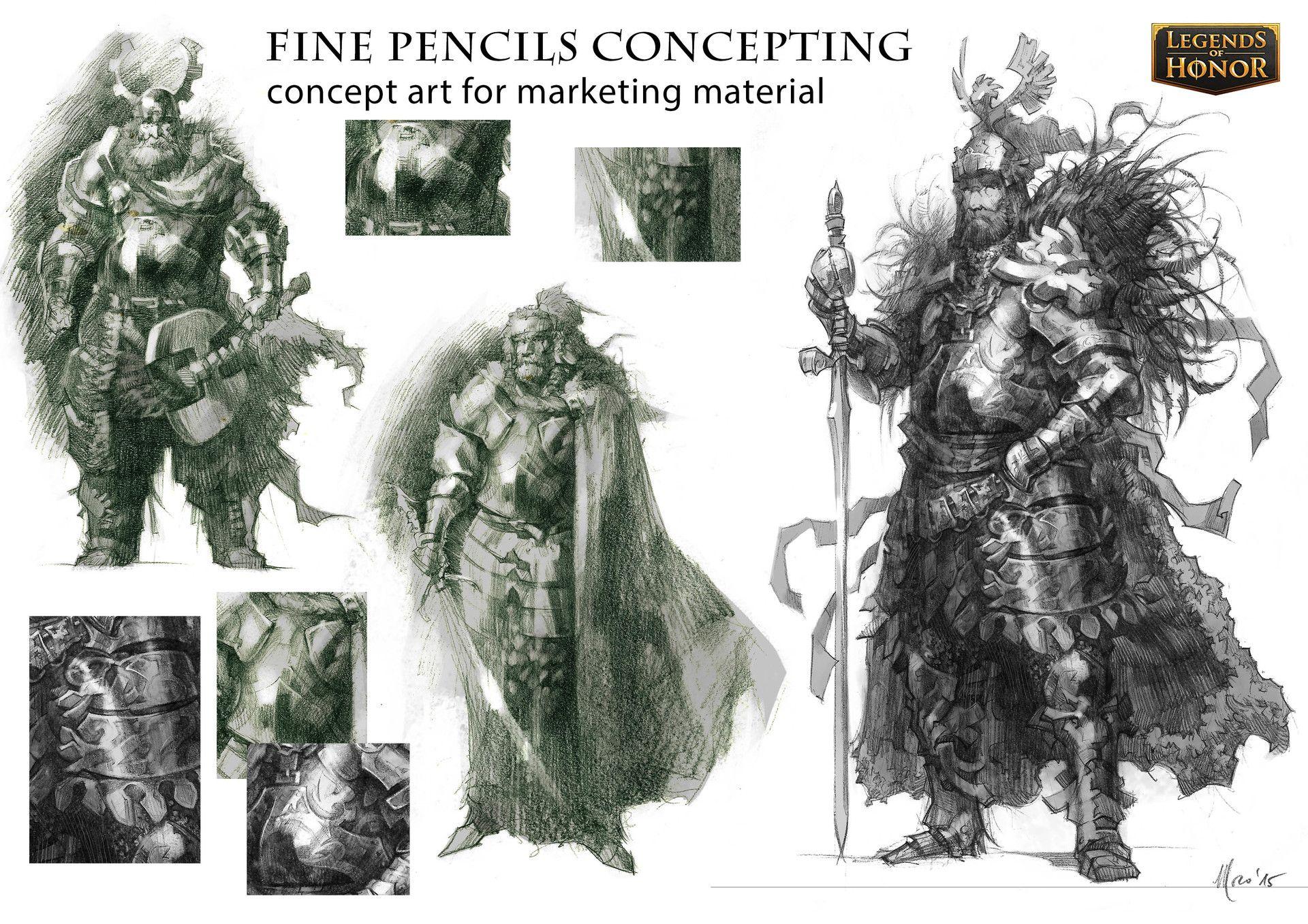 ArtStation - Fine pencils concepting, Stefano Moroni