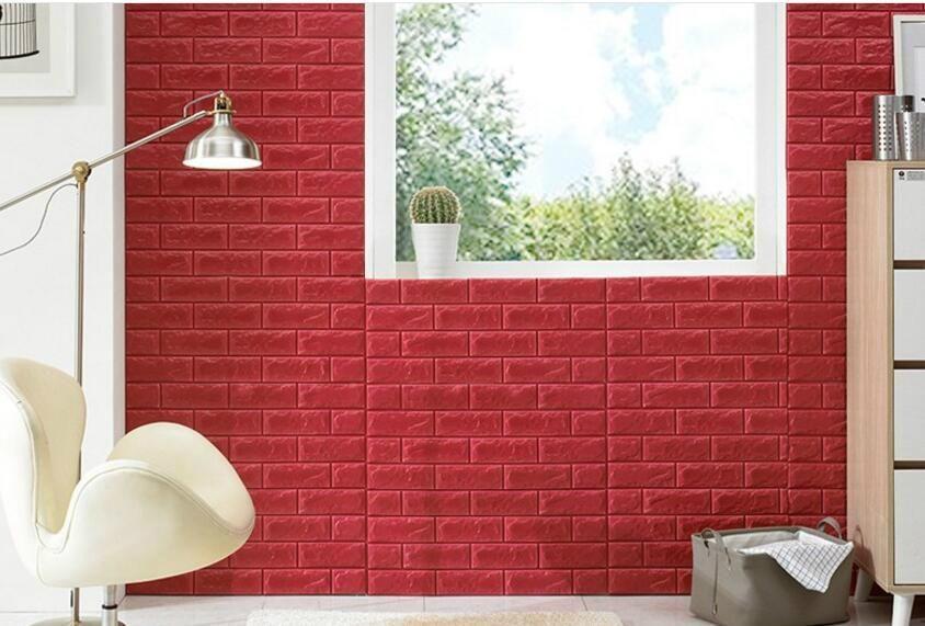 New Design Self Adhesive Sticker Decorative Wall Tile 3D XPE Foam ...