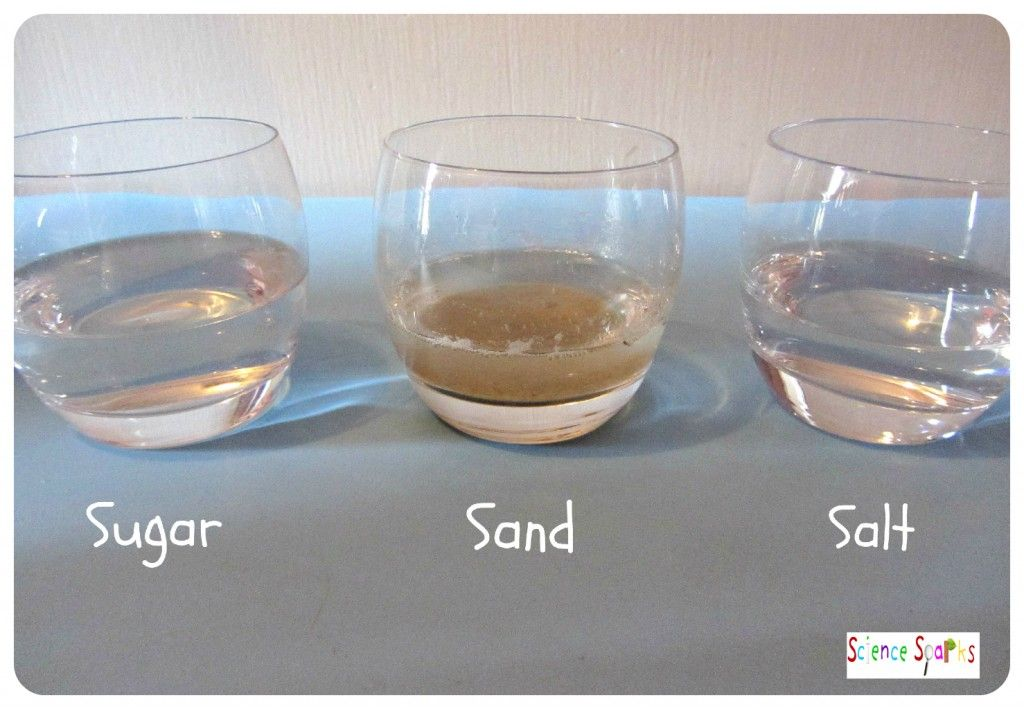 Chemistry for kids making and separating mixtures with