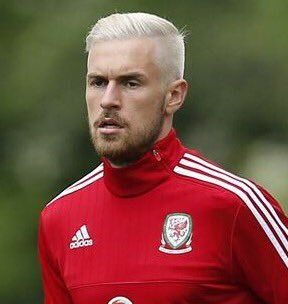 Aaron Ramsey Platinum Blond Welsh Footballer Boys Haircuts Boy Hairstyles Haircuts For Men