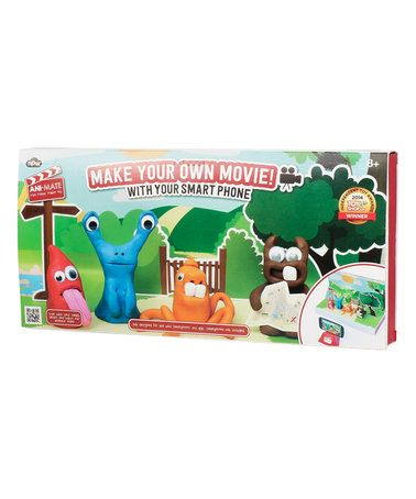 This Ani-Mate Claymation Set is perfect! #zulilyfinds
