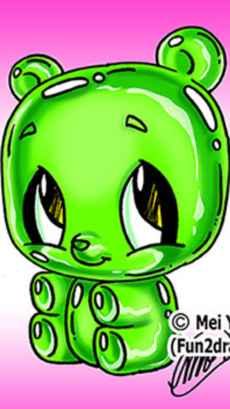 This Is Adorable Fun2draw Cartoon Drawings Bear Cartoon