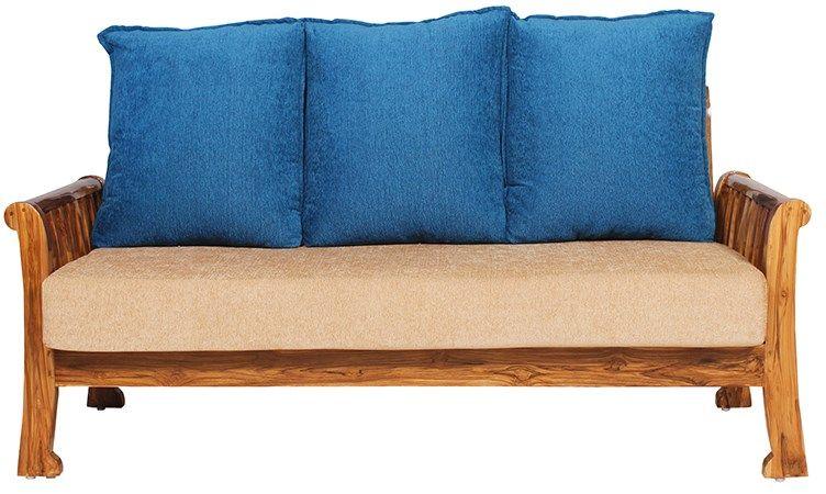 Buy Bantia Moncton Sofa3 Online India At Best Price Rs 24 640 Wooden Sofa Furniture Love Seat