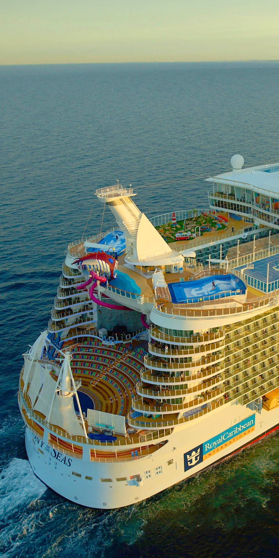 Symphony Of The Seas With A 10 Story Slide Surf Simulators A Zip Line And Much More You Ll Be Hopi Royal Caribbean Cruise Cruise Travel Best Cruise Ships