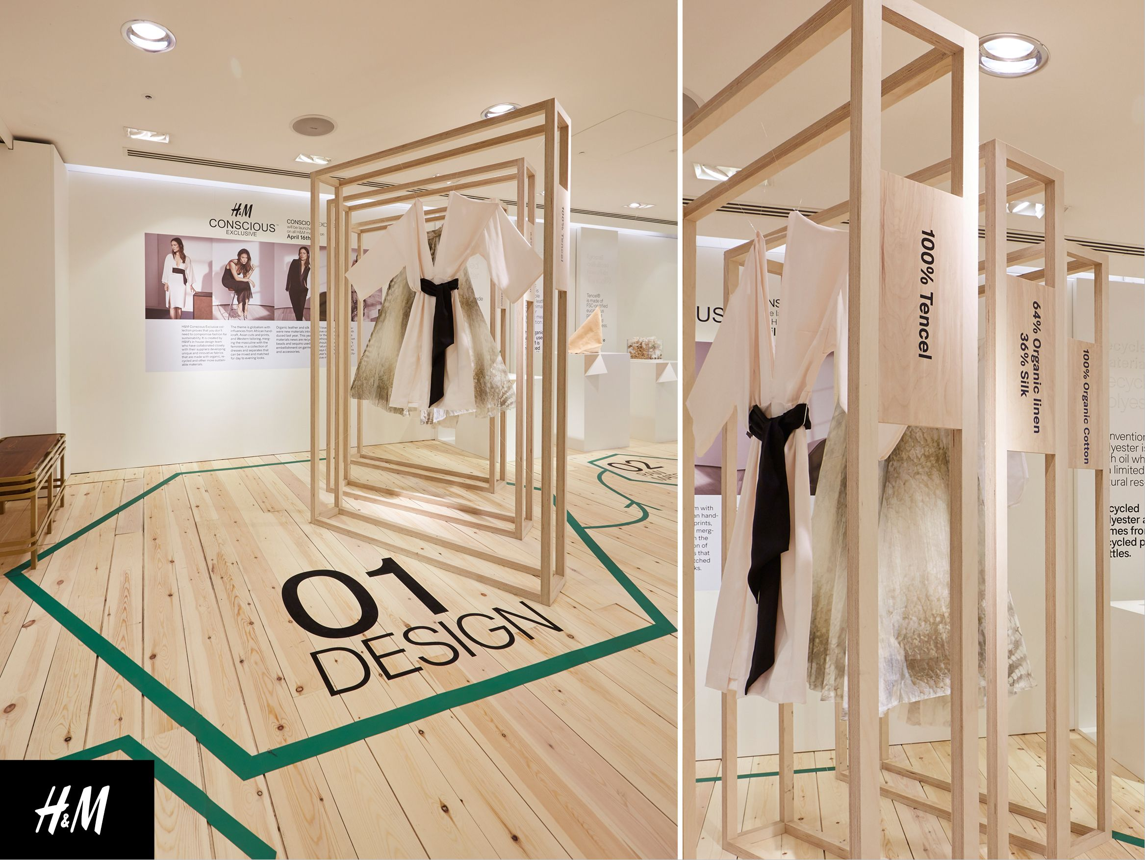 FormRoom for H&M Conscious Lounge PopUp, Oxford Circus