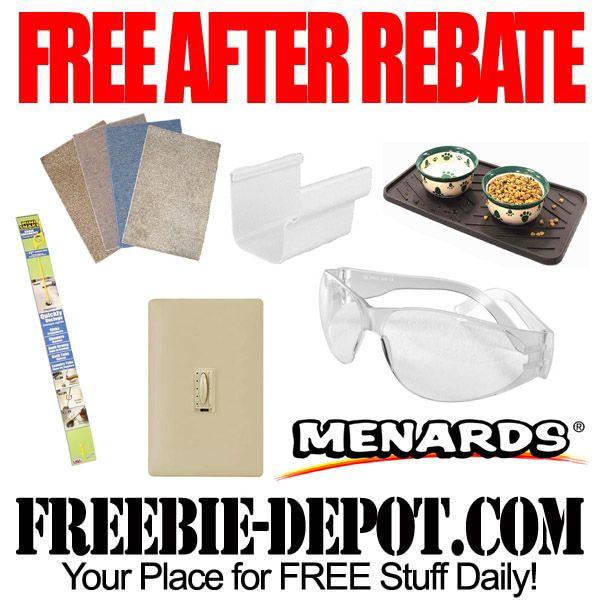 Free Hardware Items Menards Exp 9 9 Free After Rebate