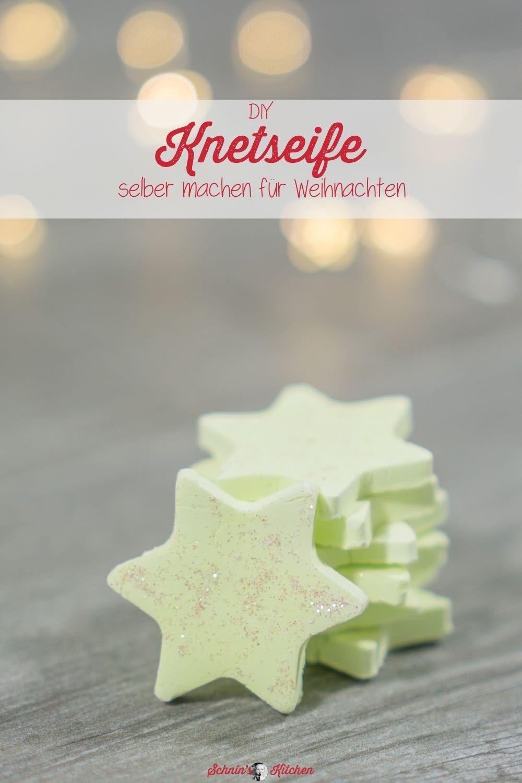 Knetseife selber machen als Weihnachtsgeschenk