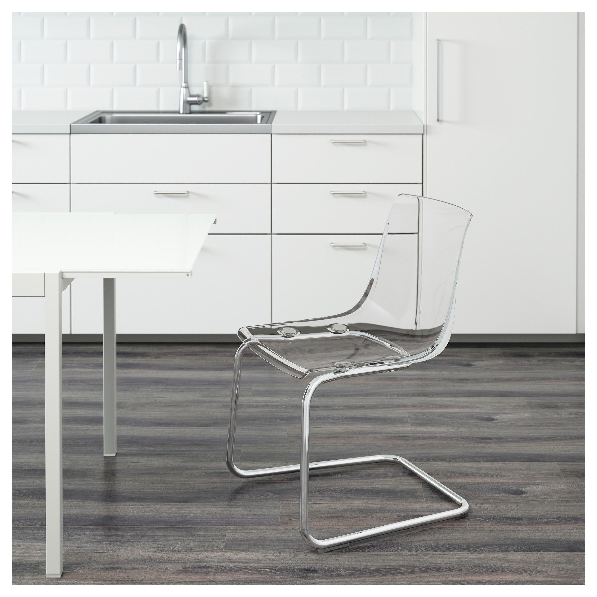 Prime Ikea Tobias Chair Transparent Chrome Plated Ikea Chair Caraccident5 Cool Chair Designs And Ideas Caraccident5Info