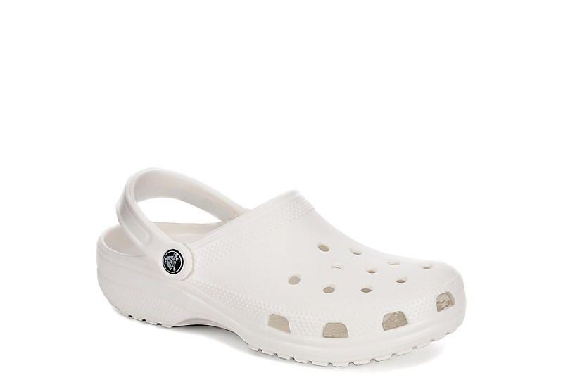 WHITE CROCS Womens Classic Clog   Crocs